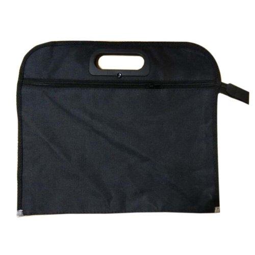 Portable Oxford A4 Document Organizer File Holder Portfolio Briefcase(34x30x3cm)