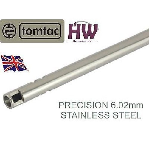 Airsoft Precision Inner Barrel 6.02 Stainless Steel Tight Bore 455Mm Tomtac 6.03