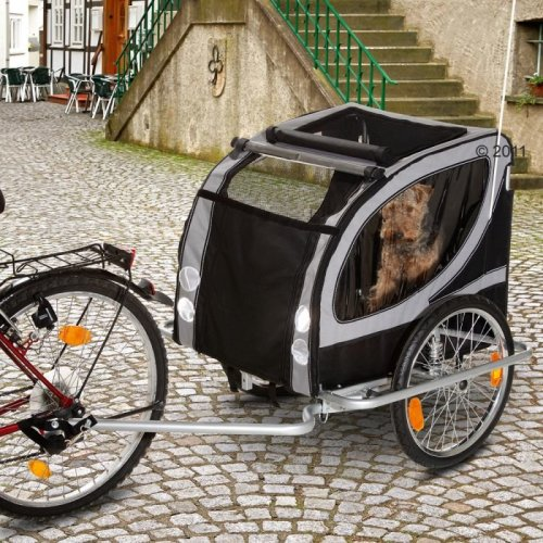 No Limit Doggy Liner Paris de Luxe Dog Bike Trailer