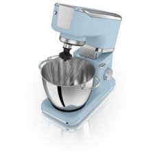 Swan Vintage Stand Mixer With Bowl - Blue 1000W (Model No. SP21010BLN)