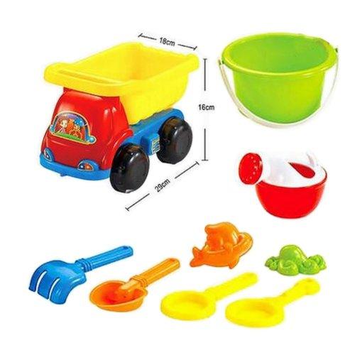 9-Piece Funny Playset for Children/Kids Beach Toy Set, Toy for SandBox