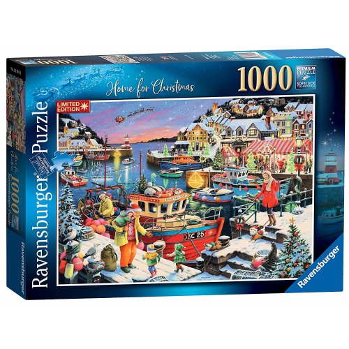Ravensburger 1000pc Home for Christmas Jigsaw Puzzle