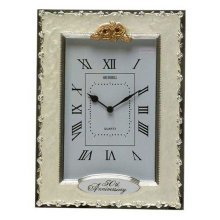 Celebration Golden Wedding 50th Anniversary Clock by Shudehill giftware