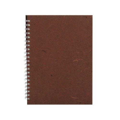A4 Portrait, Chocolate - Posh / Off White / 35