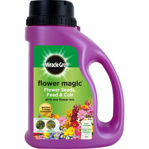 Miracle-Gro Flower Magic Multi-Coloured Mix Jug, 1 kg