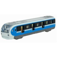 Simulation Locomotive Toy Model Trains Toy Subway, Blue ( 18.5*4.5*3.5CM)