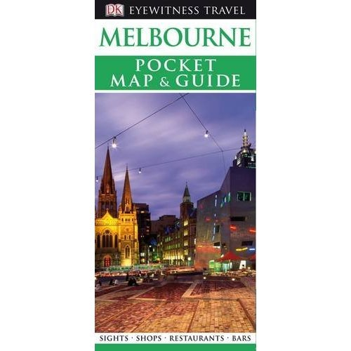 DK Eyewitness Pocket Map and Guide: Melbourne