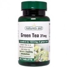Natures Aid - Green Tea 1000mg 60VTabs