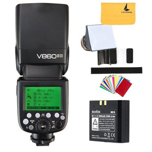 Godox V860II-O TTL Flash HSS 2.4G Li-on Battery Camera Flash Speedlite for Olympus E-M10II E-M1 E-PL7 E-PL6 E-PL3 PEN-F Camera Panasonic DMC-CX85...