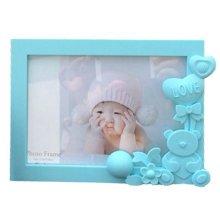 Lovely Bear Baby&Kids Picture Frame Photo Frames Plastic Frames,Blue
