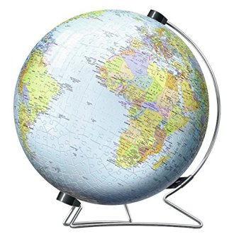 Ravensburger The World on V-Stand Globe - 540pc 3D Jigsaw Puzzle