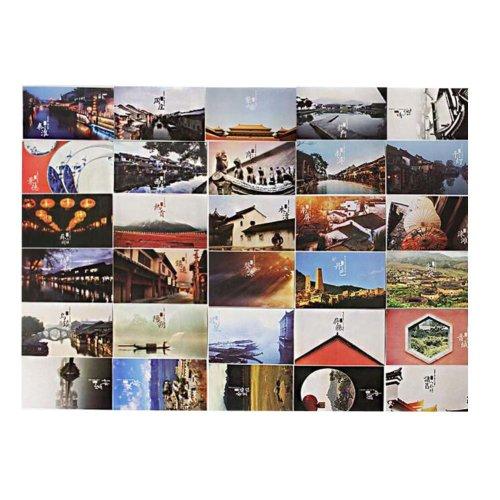 Postcard Hand Set Collection Set Beautiful Painting Greeting Card  #5