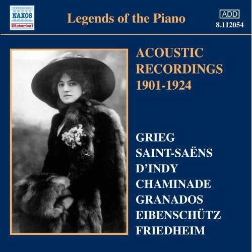 VARIOUS:LEGENDS OF PIANO VOL.1 [CD]