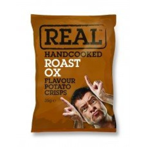 Real Crisps Roast Ox 24x35g