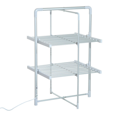Homcom 2-Tier Electric Clothes Dryer | Folding Heated Clothes Airer