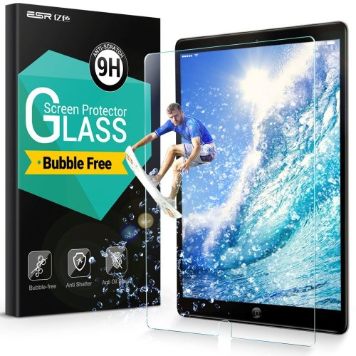 ESR iPad Pro 10.5  Clear 9H Tempered Glass Screen Protector [Lifetime Warranty]