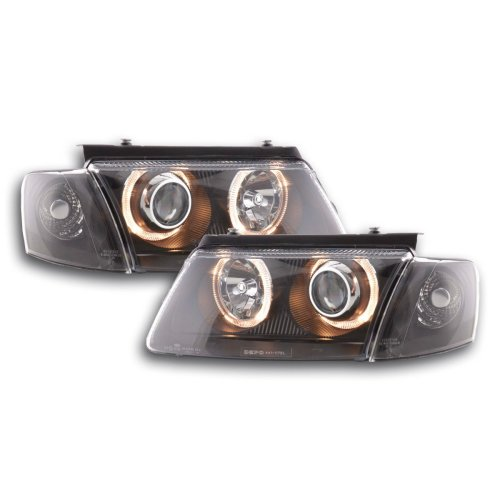 Angel Eye headlight  VW Passat type 3B Year 97-00 black