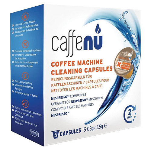 Caffenu Cleaning capsules for Nespresso coffee machine
