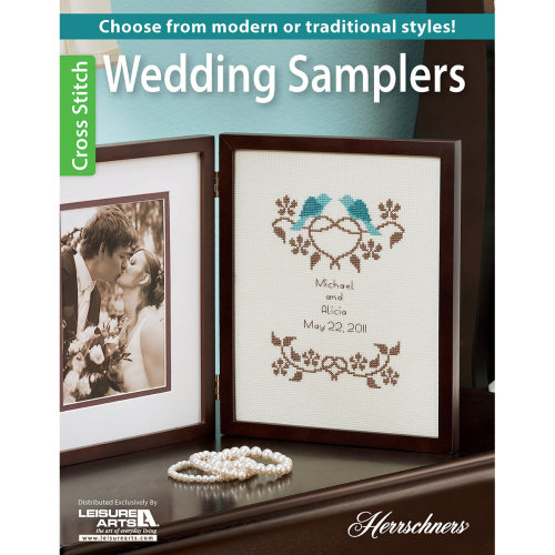 Leisure Arts-Wedding Samplers