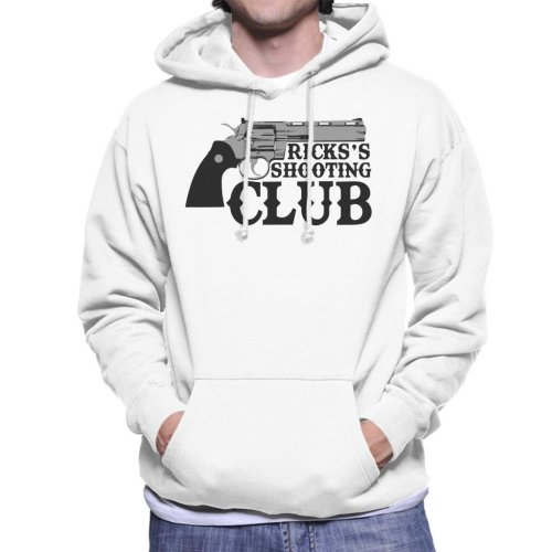 Ricks Shooting Club Walking Dead Men's Hooded Sweatshirt