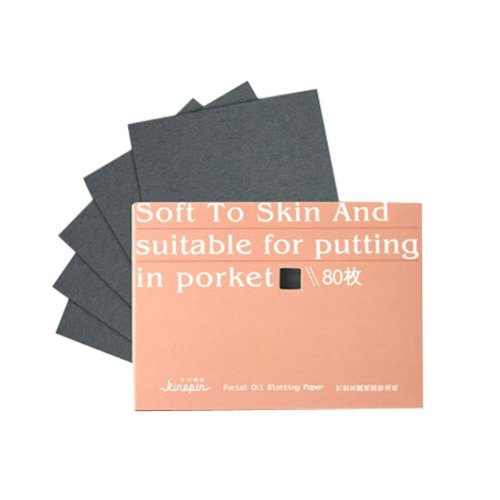 Set of 2 Oil Control Paper Men/Women Oil Blotting Paper(2*80 sheets),Orange