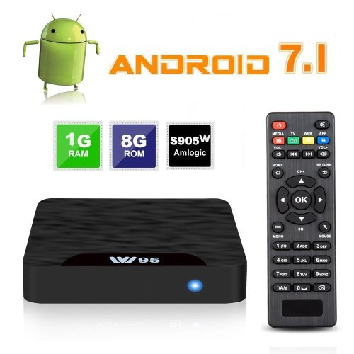 Android TV Box - VIDEN W1 Newest Android 7.1 Smart TV Boxsets