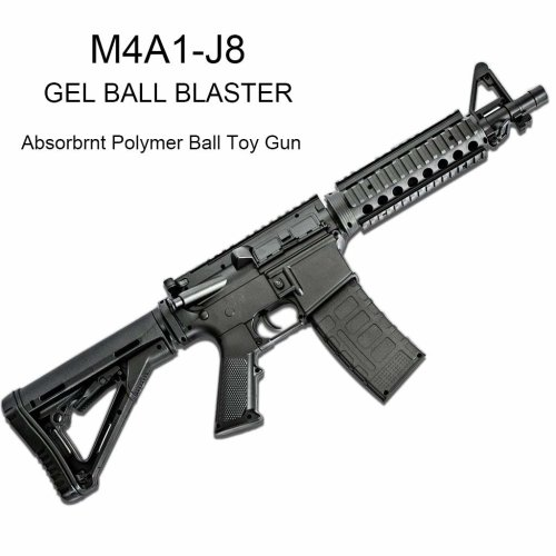M4A1 Gel Ball Blaster- Shape and texture  emulation-Safe and harmless
