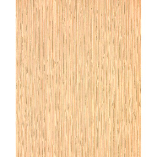 EDEM 715-26 heavyweight embossed striped wallpaper caramel rose light brown gold