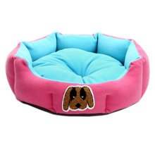 Detachable House Pet Mat Stylish Pet Bed Pet House Kennel Lovely Dog Pink