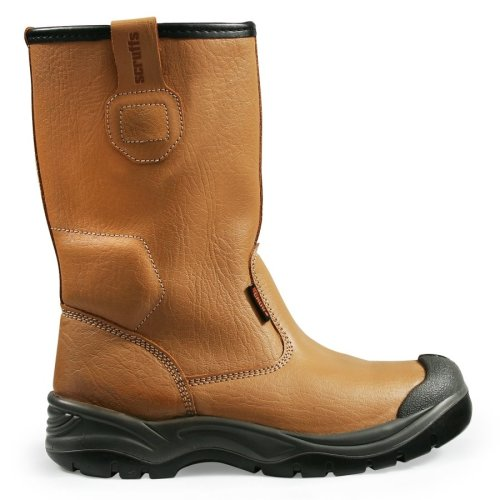 Scruffs Gravity Rigger Work Boots Tan (Sizes 7 - 12) Mens Steel Toe Cap