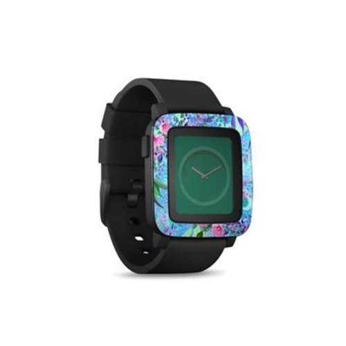 DecalGirl PSWT-LAVFLWR Pebble Time Smart Watch Skin - Lavender Flowers