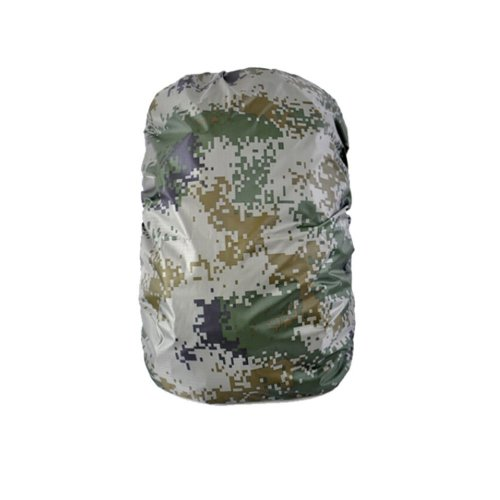 [Camouflage] Camping/Hiking Water-proof Backpack Rain/Snow Cover, Size M,45-60L