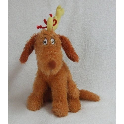 Dr. Seuss How the Grinch Stole Christmas Max Reindeer Plush