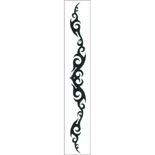 Costumes For All Occasions DE197 Tattoo Tribal Heart Armband