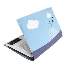 [Dolphin] Lovely Canvas Laptop Sleeve Computer Bag Laptop Case Cover