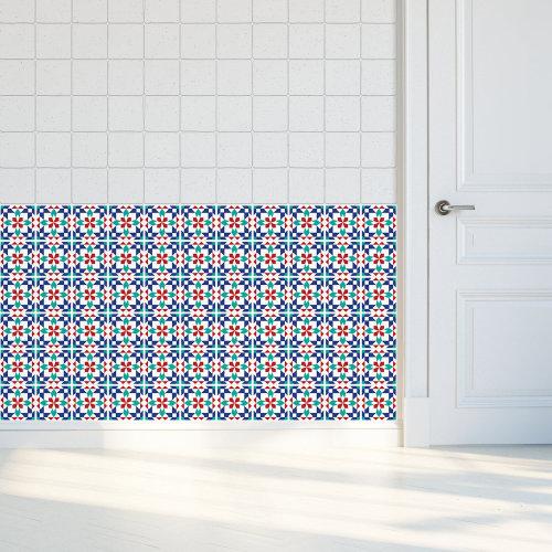 Walplus Tile Marrakech Wall Sticker Decal (Size: 10m x 10cm @ 24pcs)