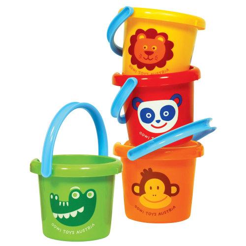 Gowi Toys Zoo Animal Bucket