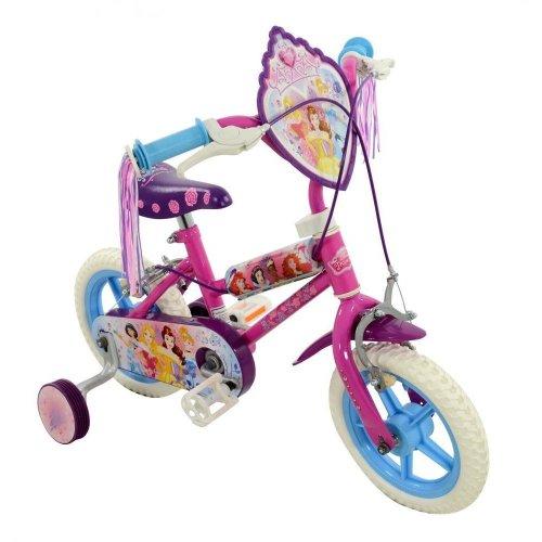 """Disney Princess Girls My First 12"""" Wheel Single Speed Bike Bicycle Pink M14386"""