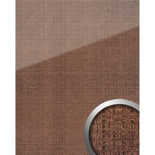 WallFace 20220 GRID Rose AR+ Design panelling glass look high-gloss pink 2.6 sqm