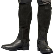 TBK Adults Suede Half Chaps