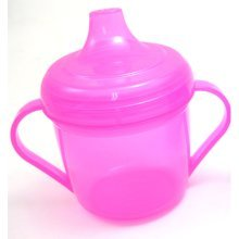 Griptight - Pink Free Flow Trainer Sippy First Cup - 6 Months +