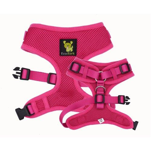 Comfort-Fit Mesh Easy Neck Adjustable Dog Harness