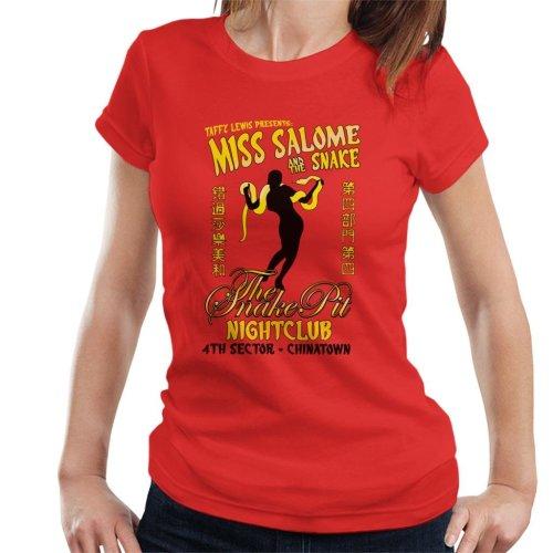 Miss Salome And The Snake Blade Runner Women's T-Shirt