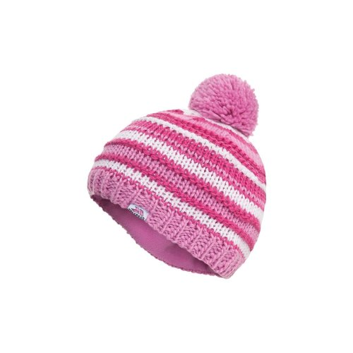 Trespass Childrens Girls Adonna Pom Pom Beanie Hat