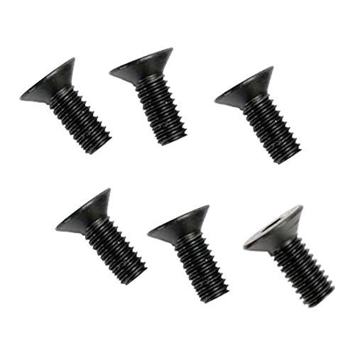 Traxxas 2535 Hex-Drive Countersunk Machine Screws, 4x10mm (set of 6)
