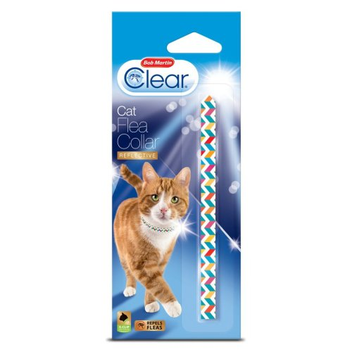 Bob Martin Clear Flea Collar For Cats Aztec