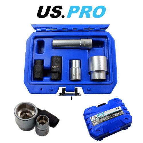 "US PRO 5 Piece 1/2"" Drive Socket Set For Bosch Fuel Injection Pumps"