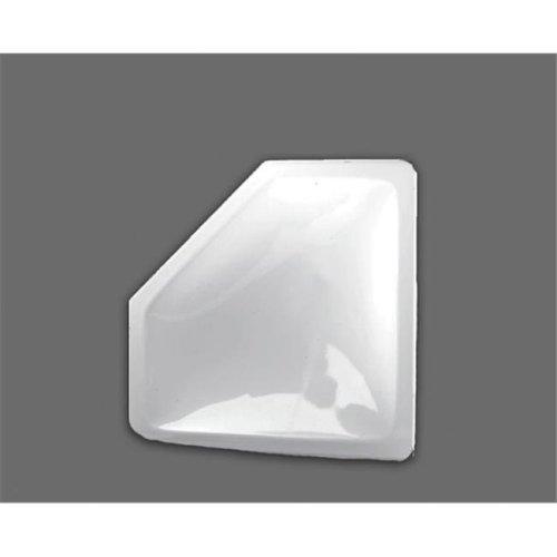 BRI-RUS Specialty Recreation B1G-NN2810 28 x 10 in. Neo Angle Inner Garnish Skylight, White