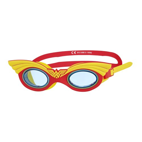 Zoggs Kids' DC Super Heroes Character Swimming Goggles, Wonder Woman, 6-14 Years