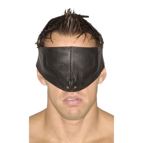 Strict Leather Upper Face Mask-SM M/L BDSM Masks - Strict Leather